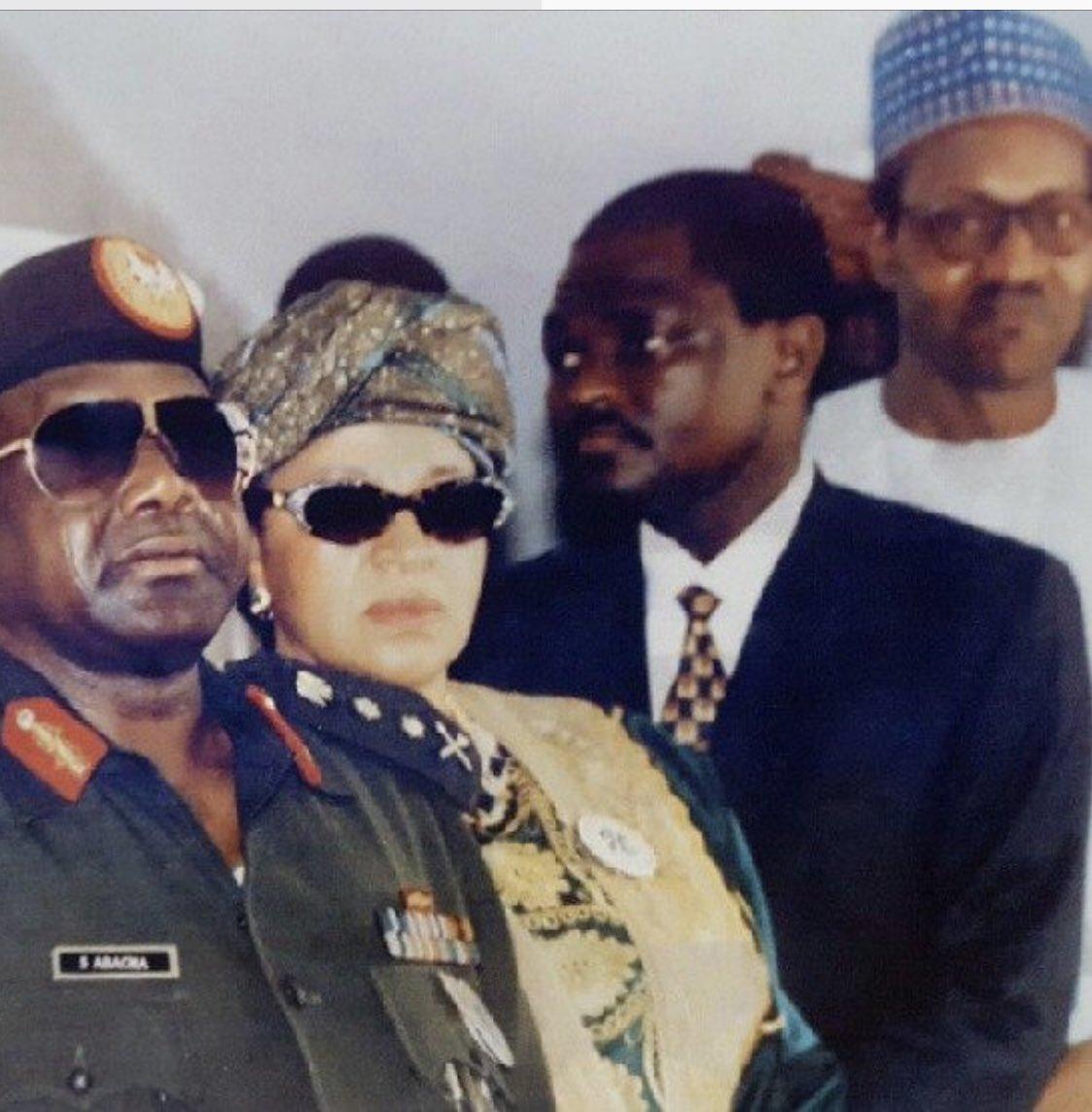 Image result for abacha buhari