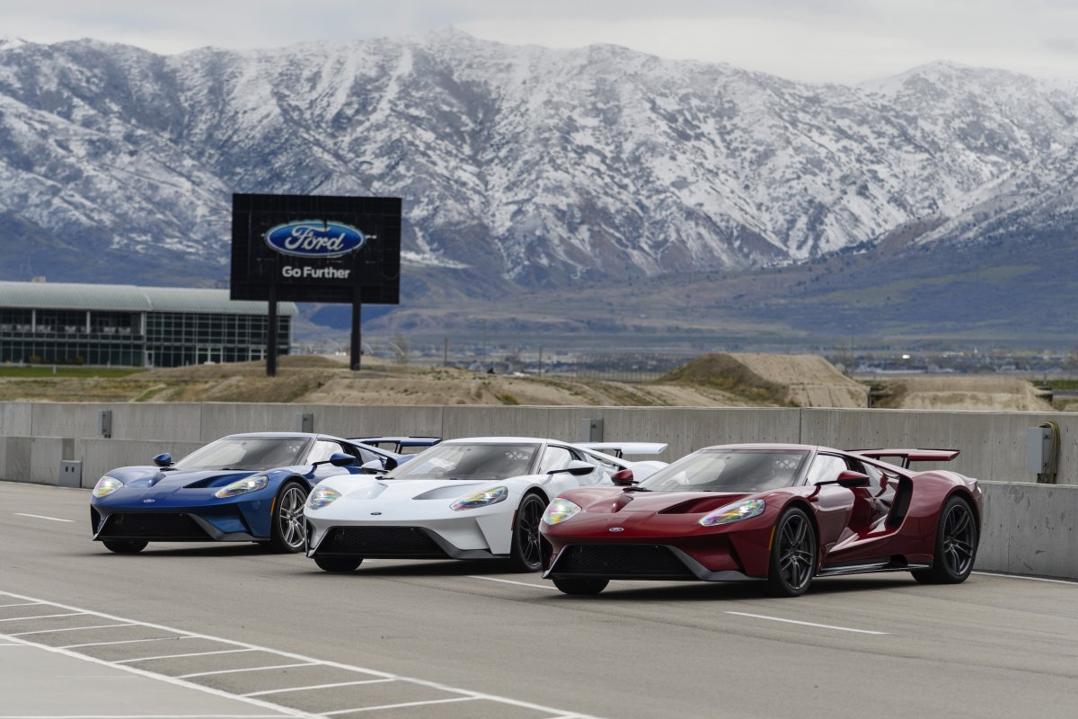 Heres What  Million Worth Of Ford Gt Supercars Look Like