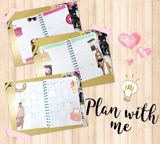 PLAN WITH ME: RECORTES DE REVISTAS