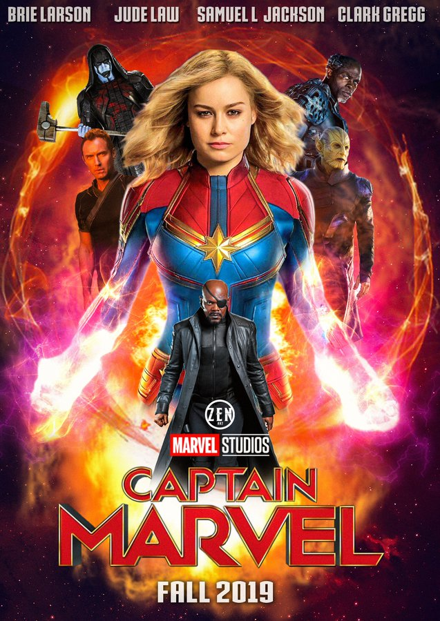 FILIMY MEDIA: Captain Marvel (2019) Dual Audio HQ Line Audio HDTS