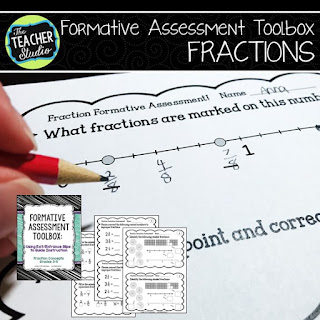 fraction fraction assessment