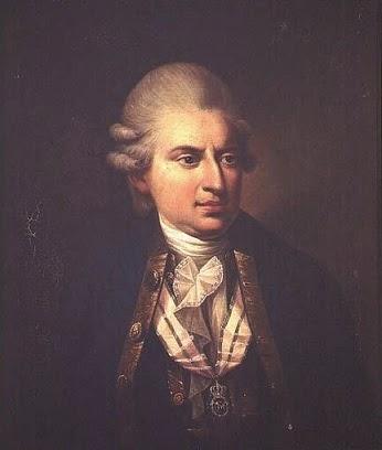 Johann Friedrich Struensee by Hans Hansen after Jens Juel, 1824
