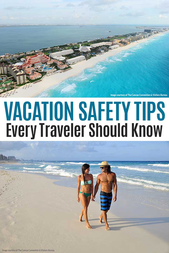 Simple travel safety tips everyone should know when planning their next vacation! Find out how to stay safe when traveling with these simple vacation tips. #ad #AVBeachBeat #vacation #travel
