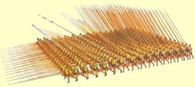 macedón gyalogság