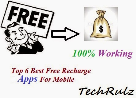 Best Free Recharge apps to get Free Talktime/Recharges on your