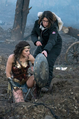 Gal and Patty on Wonder Woman