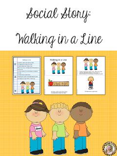 Walking in a Line