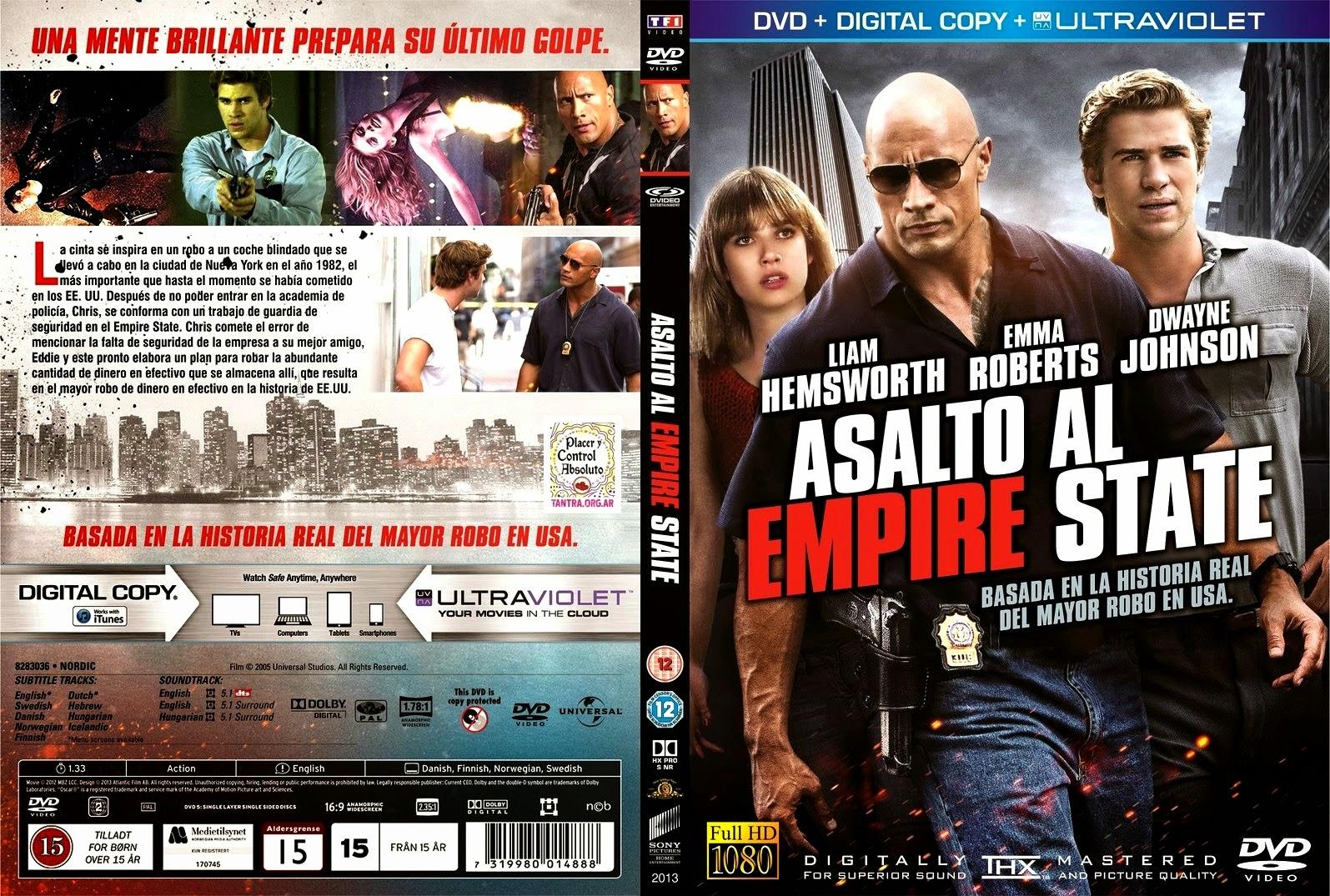 Empire State 2C Asalto al Empire State coverdvdgratis blogspot V1 jpgEmpire State Dvd Cover