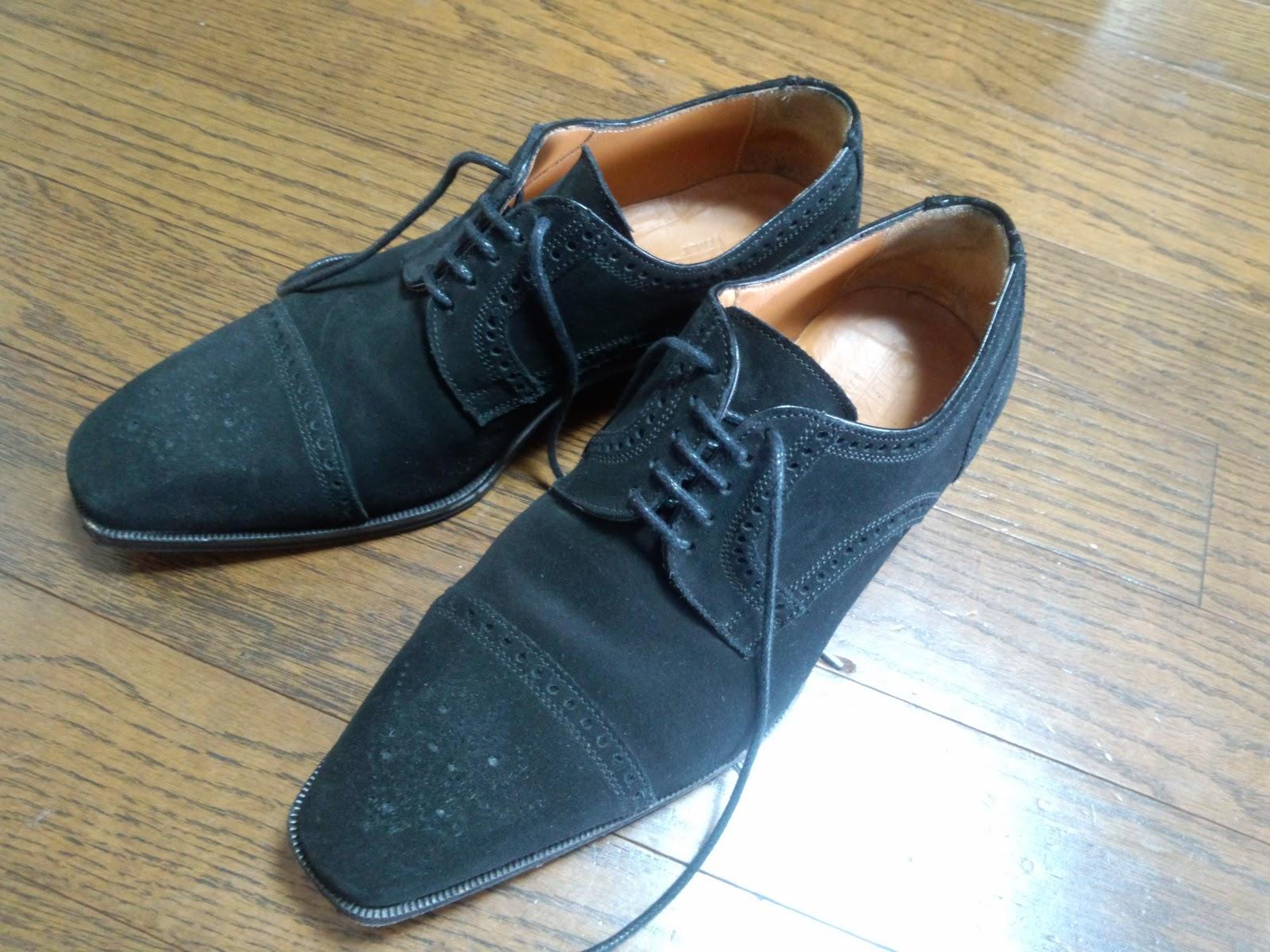 the SENSE  the SENSE: 黒スエードの靴との出会い - No.050 sk..