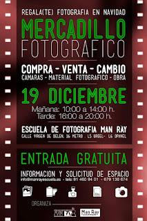 Mercadillo fotográfico de Navidad Man Ray 2015 (2ª Edición)