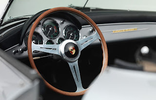 1958  Porsche 356 Speedster Convertible Steering Wheel