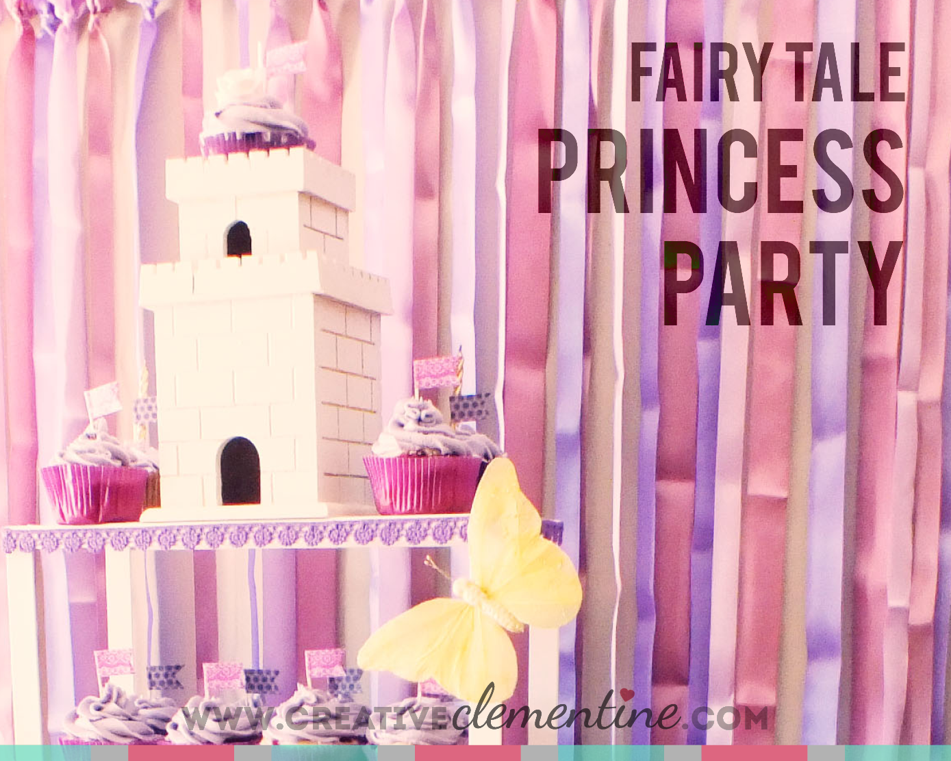 Kid-Friendly Fairy Tale Princess Party by Creative Clementine