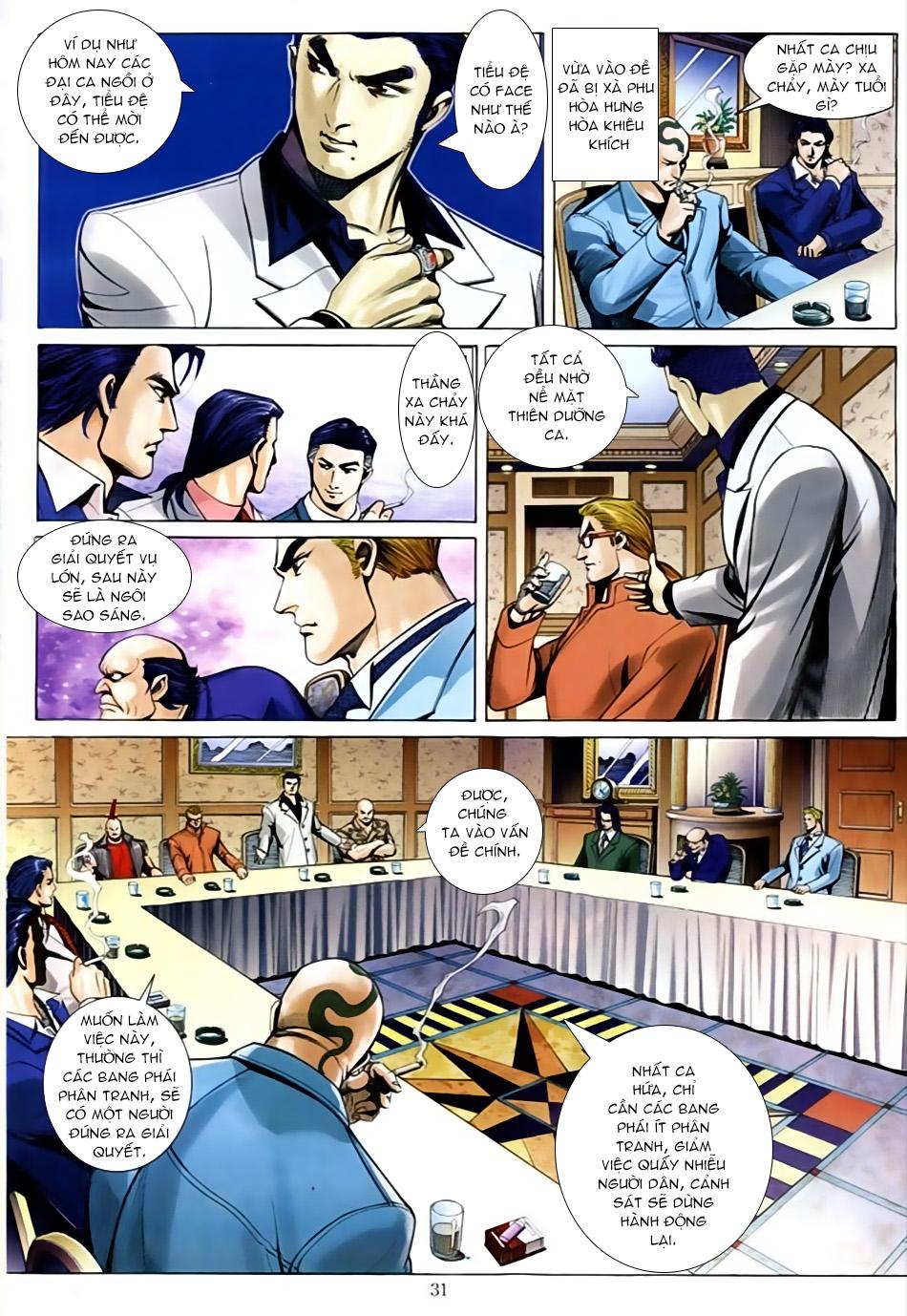 Người Trong Giang Hồ chapter 586: lưỡi chiến quần hùng trang 24