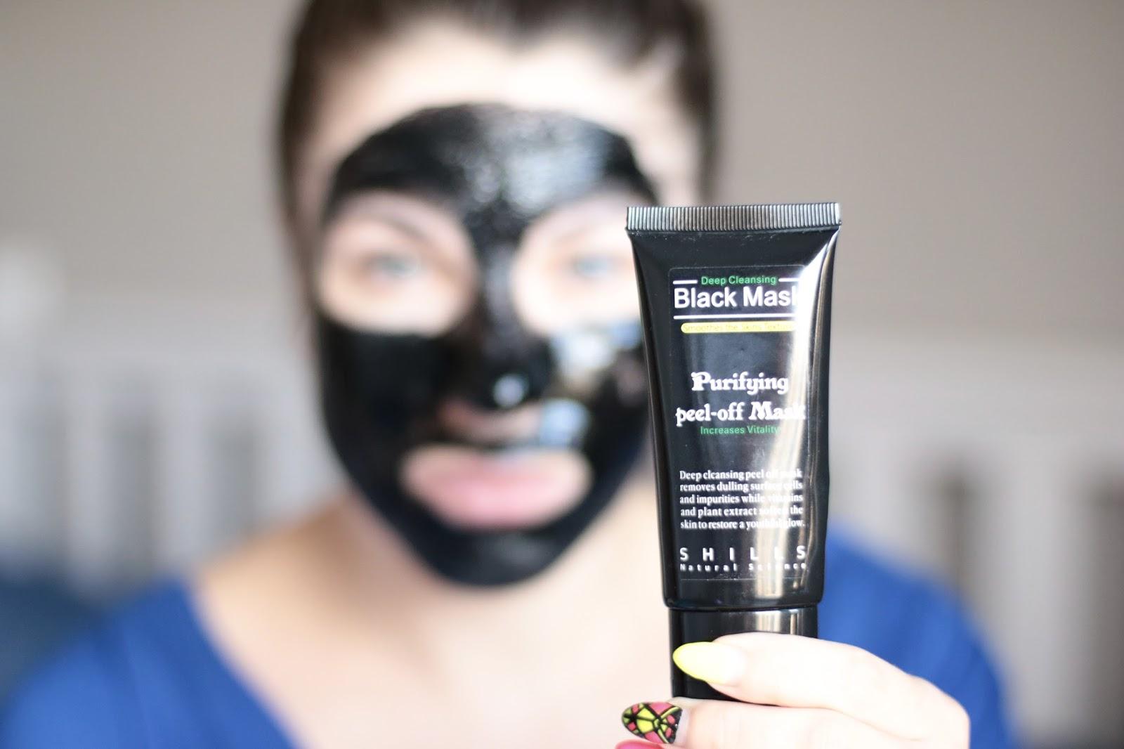 Puryfing Peel Off Black Mask - Czy Czarna Maska Naprawdę Działa ? Potwór Z Bagien :)