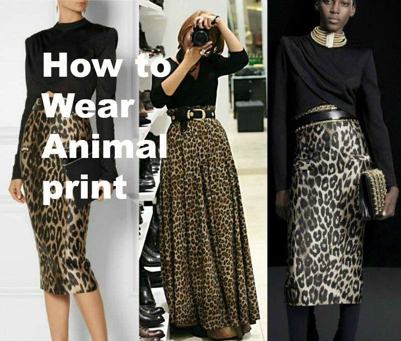How to Wear Animal Print 7 Style Tips | MIS PAPELICOS