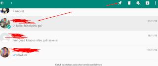 cara pin chat whatsapp di urutan paling atas
