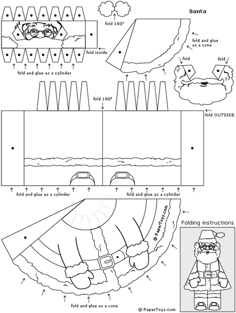free craft templates to print - xmas coloring pages