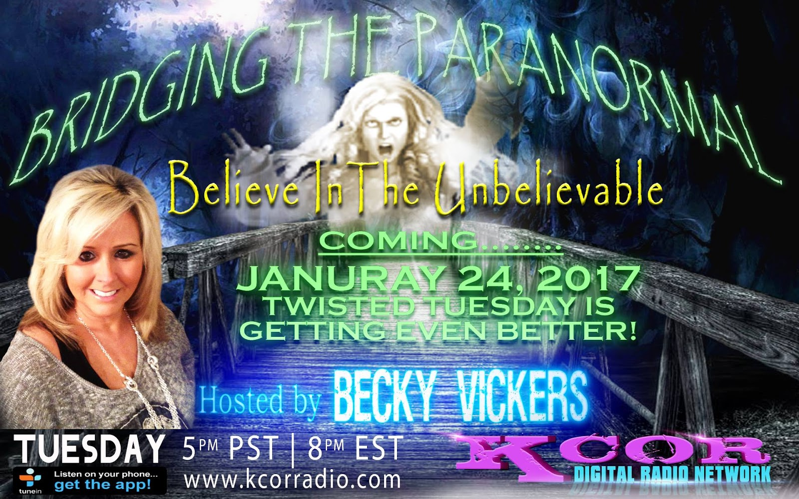 Becky Vickers(BECKS) - Everyday Ghost Hunters/Goatman's Bridge Ghost