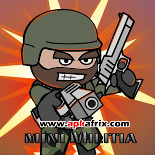 Doodle Army 2-Mini Militia v3.0.27 APK Mod [Unlocked] Free Download
