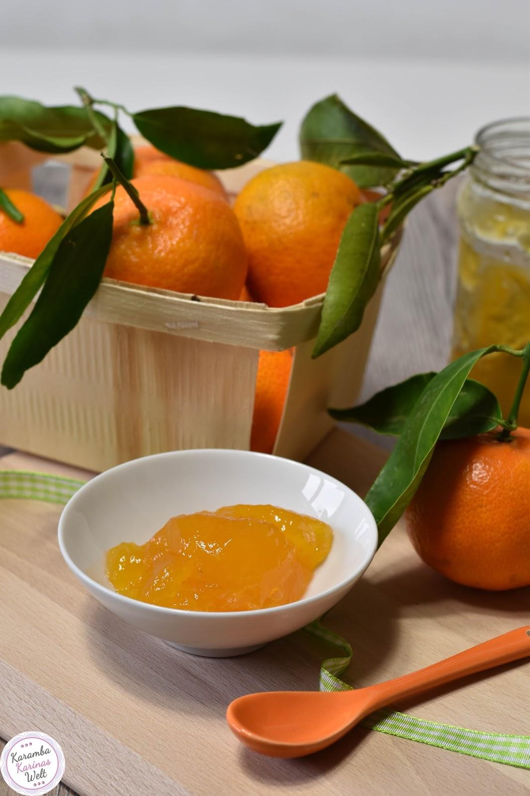 KarambaKarina\'s Welt: Geschenke aus der Küche: Mandarinenmarmelade ...
