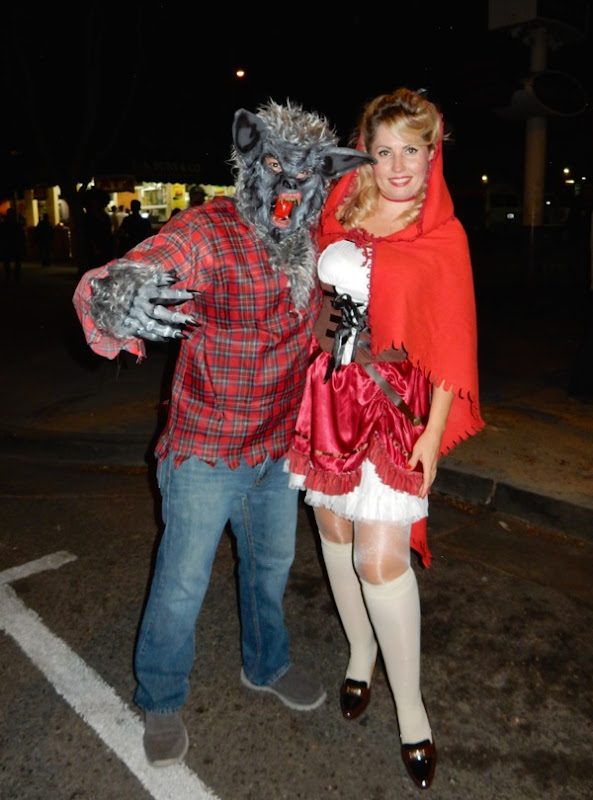 West Hollywood Halloween Wolf Red Riding Hood costumes