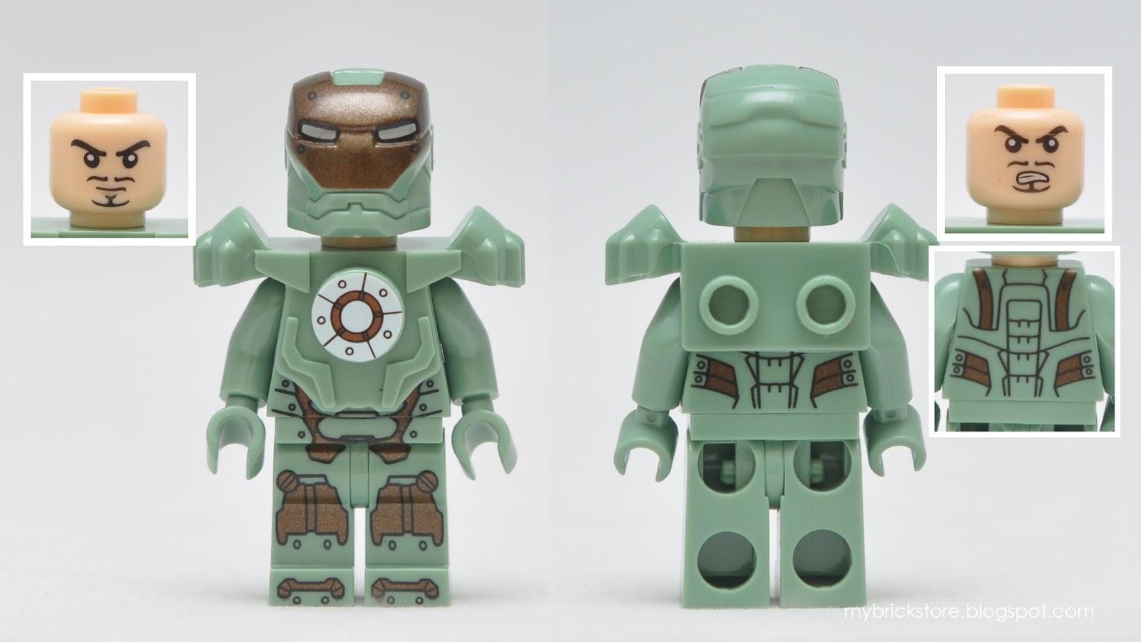 Iron Man Lego Figures 22