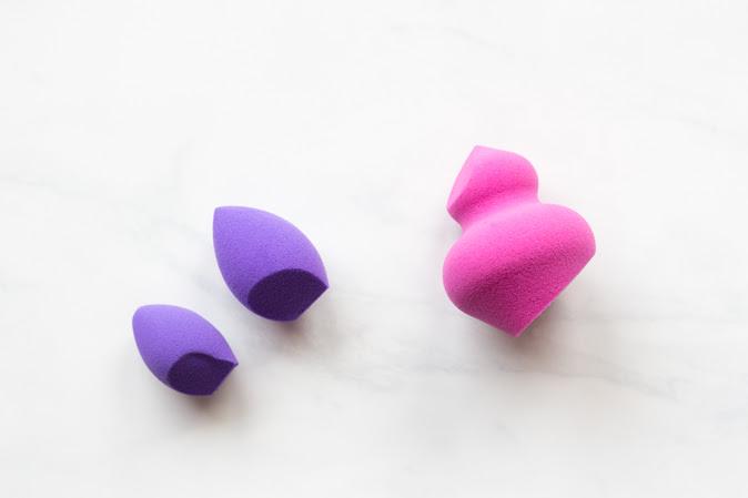real techniques miracle sculpting sponge and mini eraser sponge review