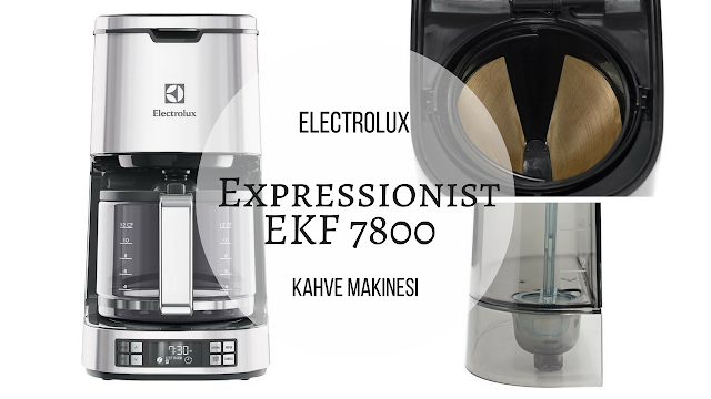 Electrolux Expressionist EKF 7800 Kahve Makinesi