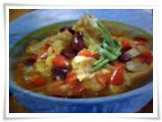 sup pedas kacang merah