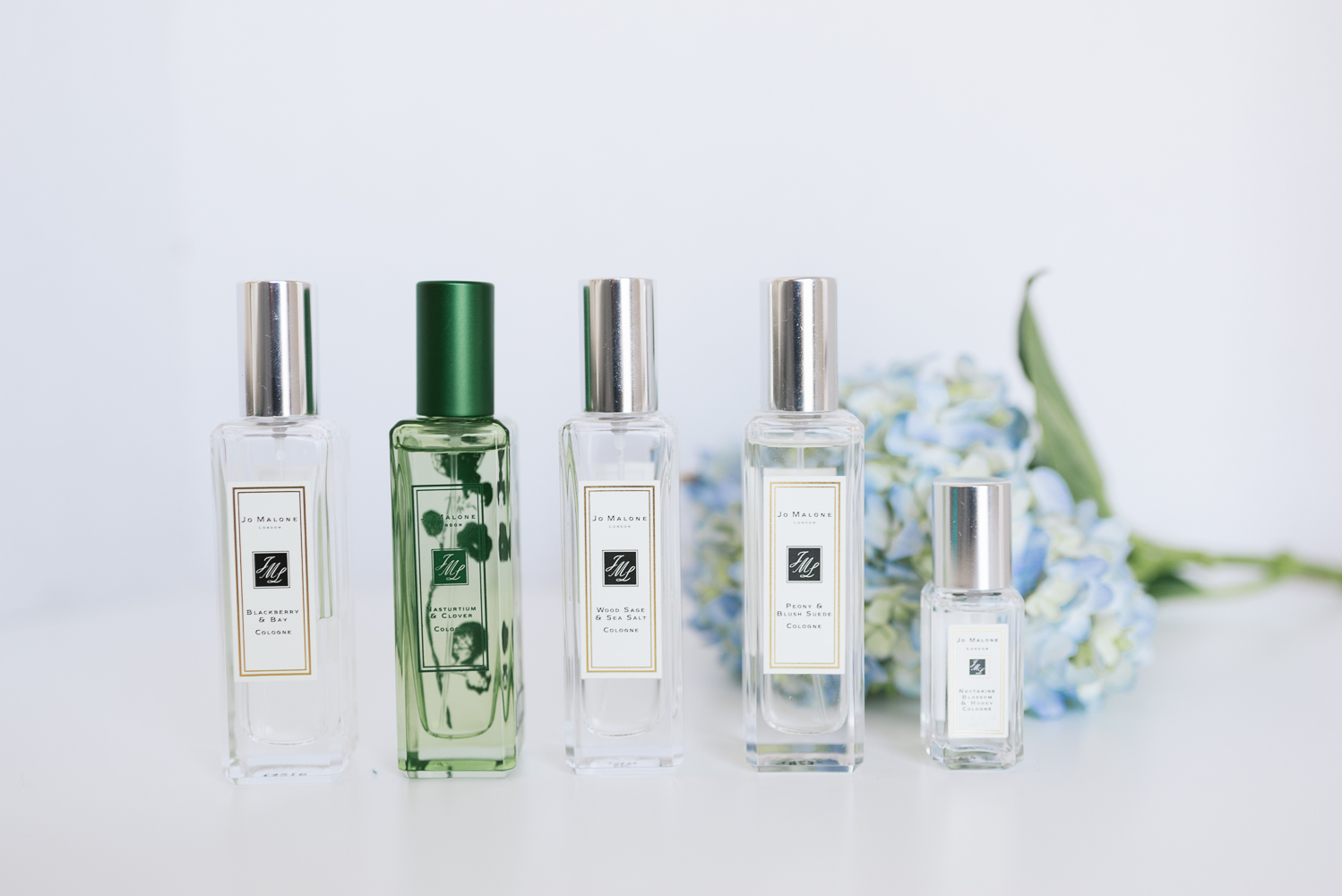 Alex Good-Beautyosaurus Lex-Review-Jo Malone Review-2016-Peony and Blush Suede-Nasturtium and Clover-Blackberry and Bay-Wood Sage and Sea Salt-Nectarine Blossom and Honey-Jo Malone Cologne Review