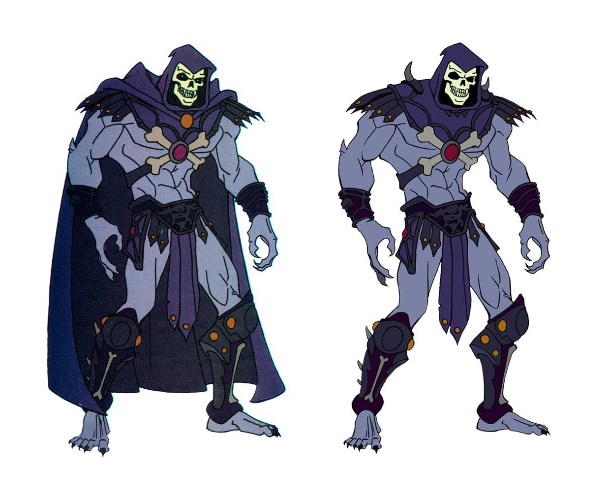 The Essential MYP He-Man: Skeletor's cape