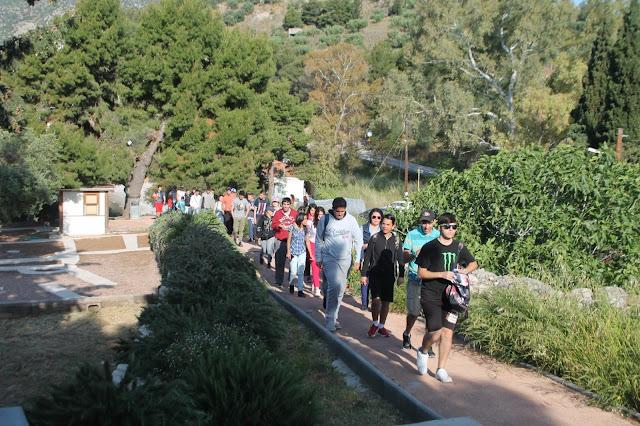 Μαθητές του Ενιαίου Ειδικού Επαγγελματικού Γυμνασίου Λυκείου Αργολίδας επισκέφθηκαν την Αρχαία Ασίνη