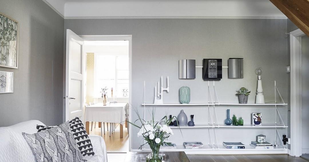 D couvrir l 39 endroit du d cor sur les murs gris - Decoration sur les murs ...
