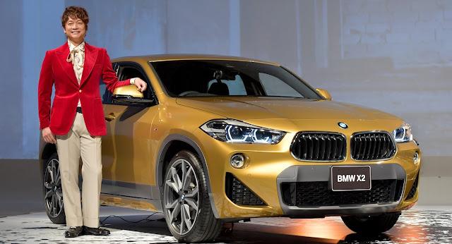 BMW、香取慎吾とコラボレーションした「新型X2スペシャルムービー」を公開!