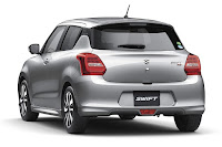 Suzuki Swift (2017 Japanese Spec) Rear Side