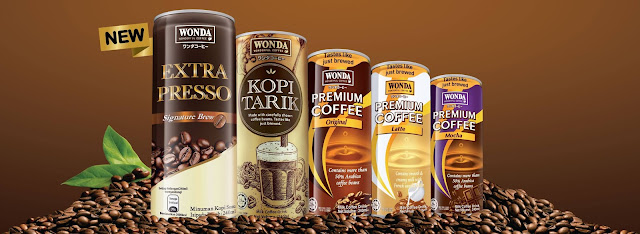 Wonda Coffee Flavours