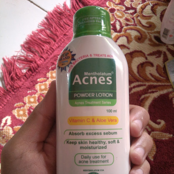 Review: Acnes Powder Lotion