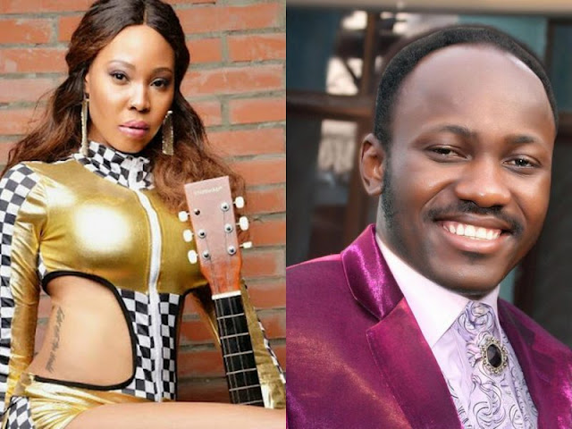 Image result for STEPHANIE OTOBO GRANTS A TELL IT ALL PRESS CONFERENCE REVEALING MORE ABOUT APOSTLE SULEIMAN
