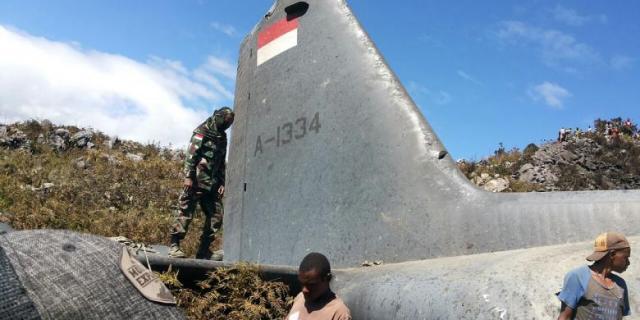 Kronologi Jatuhnya Pesawat Hercules Menurut TNI AU
