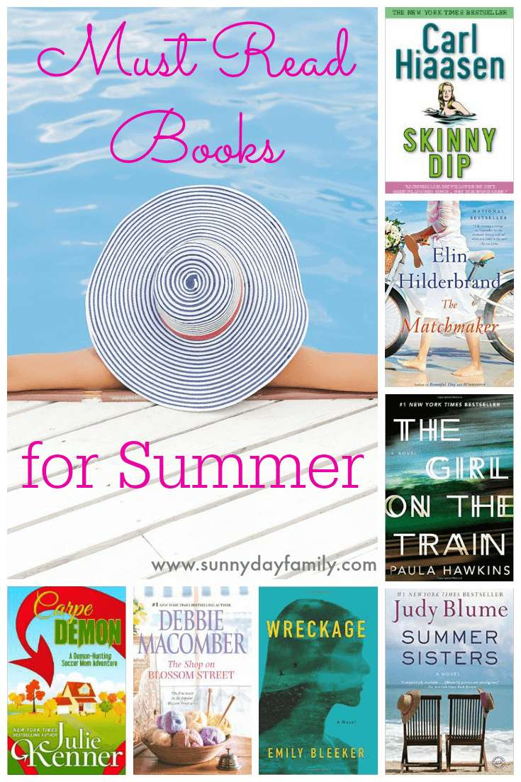Looking for the perfect book to enjoy by the pool this summer? Check out these fabulous picks!
