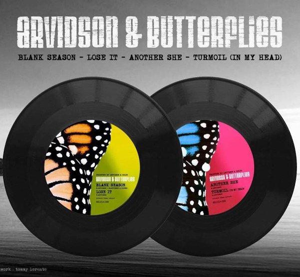ARVIDSON & BUTTERFLY - Blank season (Ep)