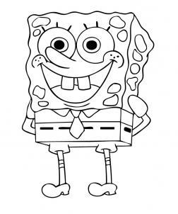 Sketsa Gambar Spongebob Keren Download Gambar Spongebob 2019