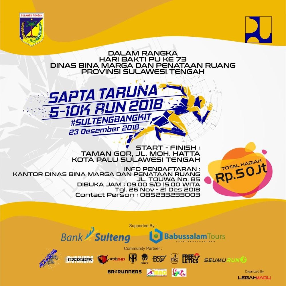 Sapta Taruna Run • 2018