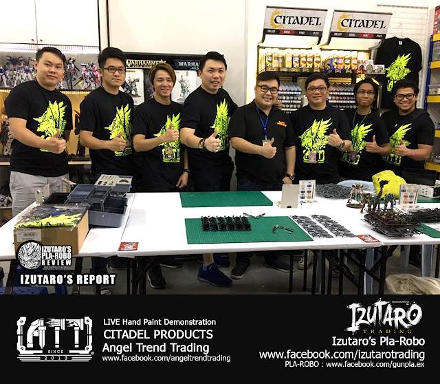 Izutaro Report: ATT - Angel Trend Trading : Hand Paint Demonstration - Citadel Paint