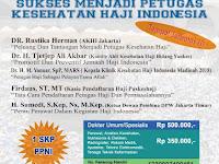 Seminar Kesehatan Haji Jakarta 13 Oktober 2018