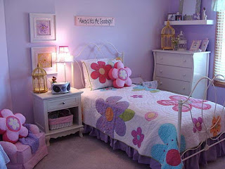 Decorating a Small Little Girl's Bedroom