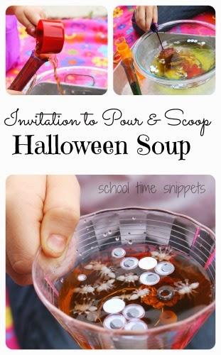 fine motor skills sensory soup