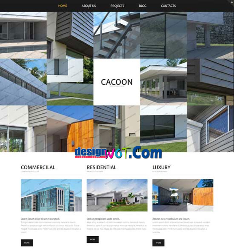 CACOON Responsive HTML WordPress Template