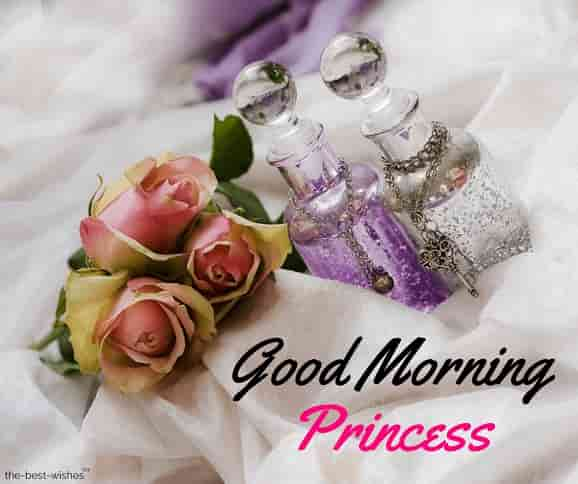 good morning princess photos
