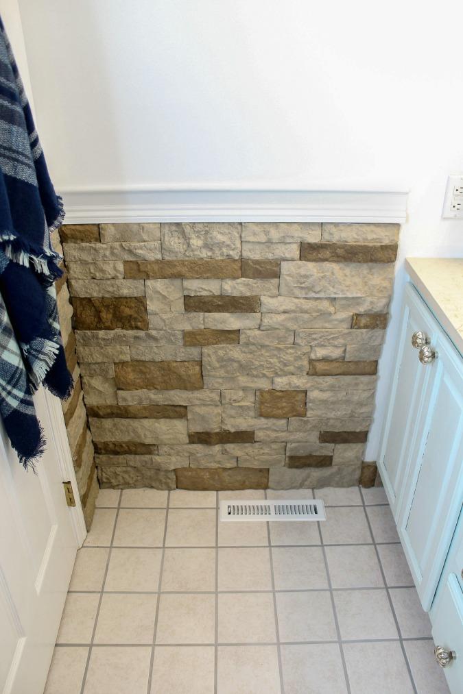 One Room Challenge Week 5-Kids/Guest Bathroom Makeover Progress